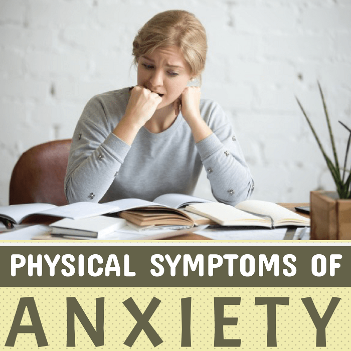 Physical Symptions Of Anxiety