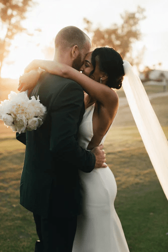 A cross-cultural couple's marriage